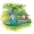 Турбаза Ринх, спортивно-оздоровительный лагерь Сосновый берег - иконка «сад» в Карачаевске
